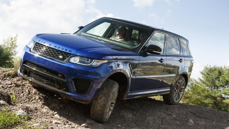 2015 Range Rover Sport SVR BASE PRICE: $111,470 DRIVETRAIN: 5.0-liter supercharged V8, 8-speed automatic, AWD OUTPUT: 550 hp @ 6500 rpm, 502 lb-ft @ 3500 CURB WEIGHT: 5,158 lbs 0-60 MPH: 4.5 sec FUEL ECONOMY: 14/19/16 mpg