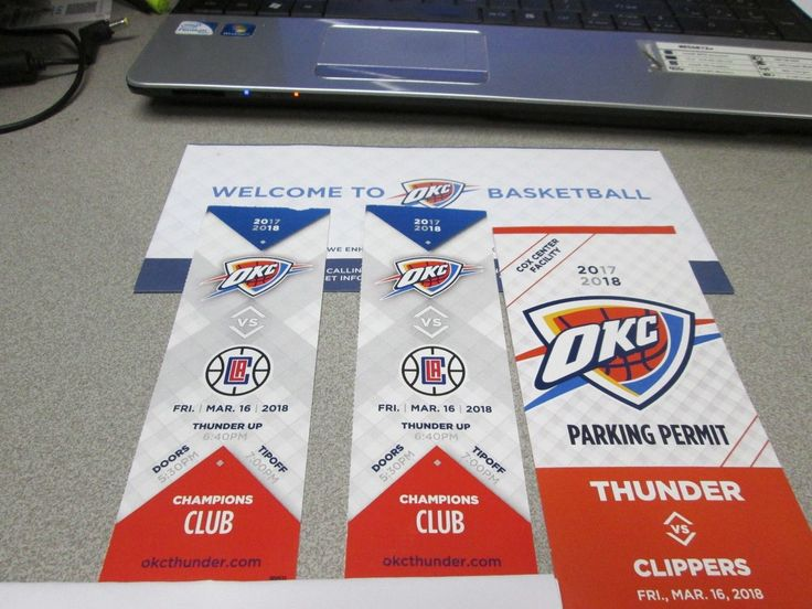 #tickets Oklahoma City Thunder VS Los Angeles Clippers March 16, 2018 tickets section 116 please retweet