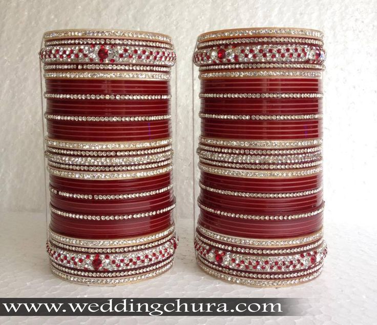 Beautiful Designer Chura.    Website For Purchase : www.weddingchura.com  Whatsapp For Purchase : +91-9416307694