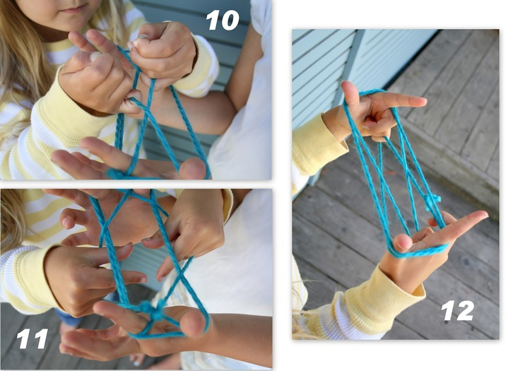 a cats cradle lesson - I loved this as a kid!