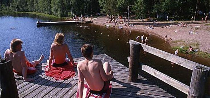 Varvojärven uimaranta, Varvontie 487  25180 Pertteli