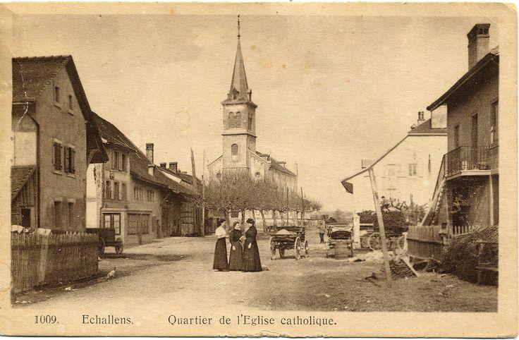 Eglise catholique d'Echallens (VD)