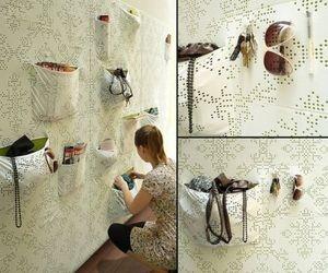 'Pocket wall' created by Maja Ganszyniec