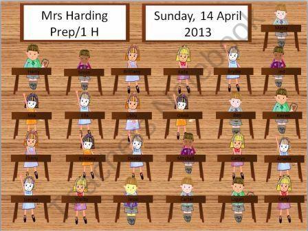 Taking attendance