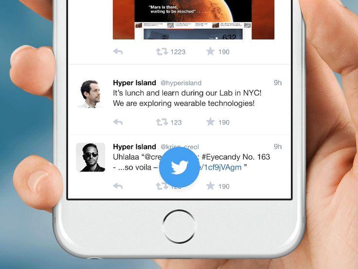 Dribbble - Twitter - Framer. JS by Claudio Guglieri