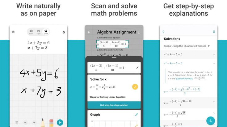 Microsoft math solver app lets you solve all types of
