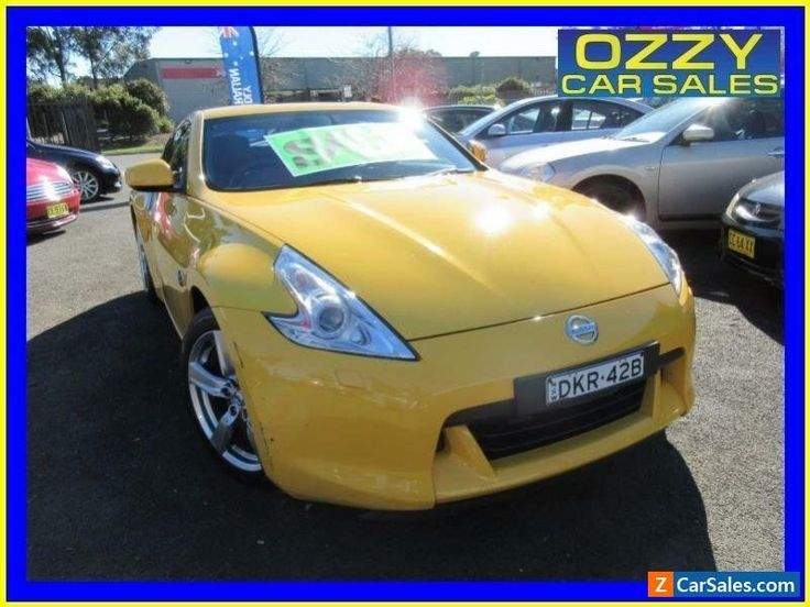 2009 Nissan 370Z Z34 Yellow Automatic 7sp A Coupe #nissan #370z #forsale #australia