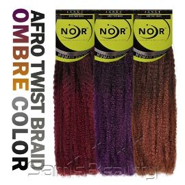 Synthetic Hair Braids Janet Collection Noir Afro Twist Braid - Samsbeauty