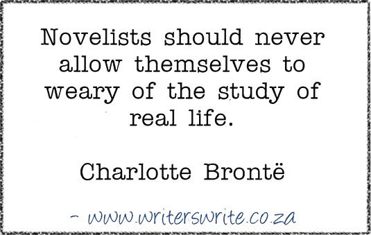 Quotable – Charlotte Brontë – Writers Write
