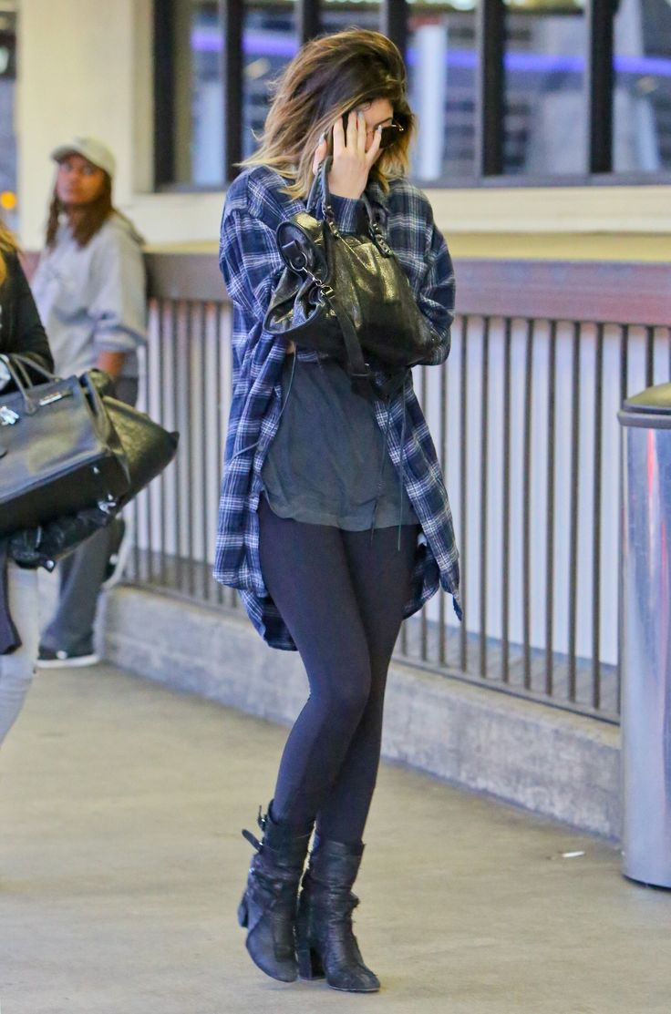 May 5, 2014 - Kylie Jenner at LAX Airport