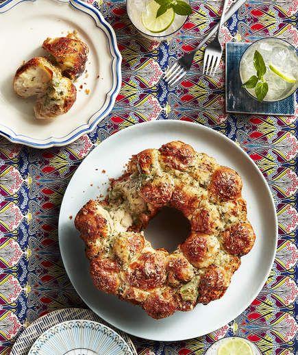 Garlic-Rosemary Monkey Bread