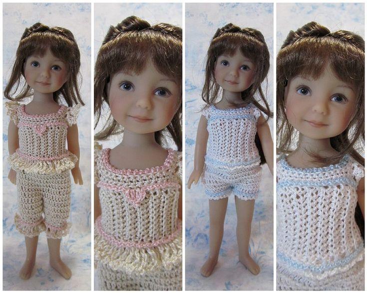 Underwear/camisole for Dianna Effner Heartstring Dolls: 1) http://byhookbyhand.blogspot.com/2013/01/dainty-doll-undies.html 2) https://sites.google.com/site/designbybethanntwo/home/links/HeartstringUnderwear.pdf?attredirects=0&d=1