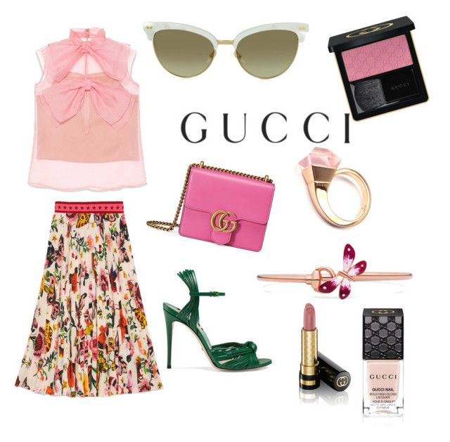 """""""Presenting the Gucci Garden Exclusive Collection: Contest Entry"""" by mariuccia1 on Polyvore featuring Gucci and gucci"""