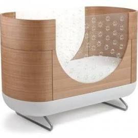 Pod Crib with Mattress & Conversion Kit