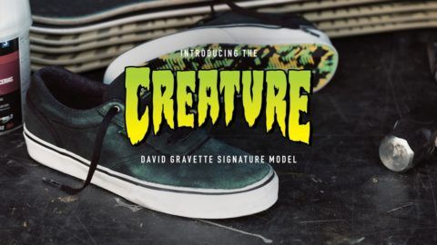 C1RCA X Creature David Gravette Commercial: Release your inner fiend with the C1RCA X… #Skatevideos #c1rca #commercial #creature #david