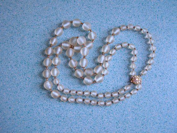 collier 2 rangs Vintage/antiquityfrench/Bijoux