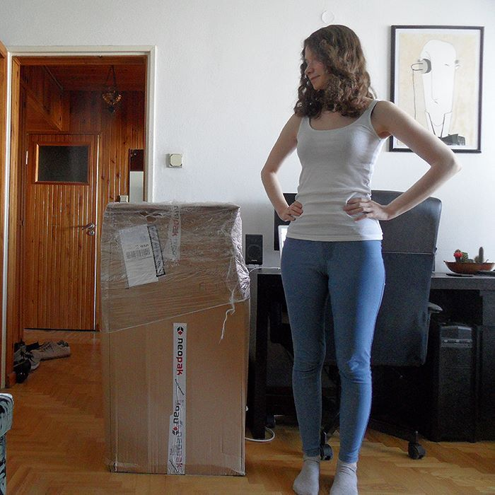 Yesterday I placed a large order for shipping supplies and it arrived today! Why was I thinking it will all fit into the closet? :D Now I really need some more orders my boyfriend is going to hate this giant box in the living room!   Fortunately I'm working on the new product line and it's almost ready! I can barely wait to announce it! Plenty of new books posters and postcards are coming! I'm sure these shipping supplies won't even last a week when I list all of my new inventory! What are…