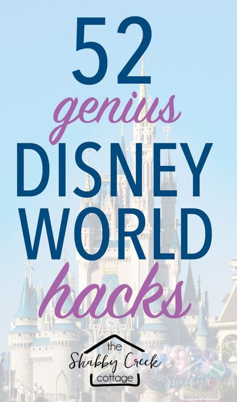 Headed to Disney World? These Disney World Hacks will help make your vacation a little more magical!