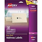 Clear labels Avery-Easy-Peel-Permanent-Laser-Address