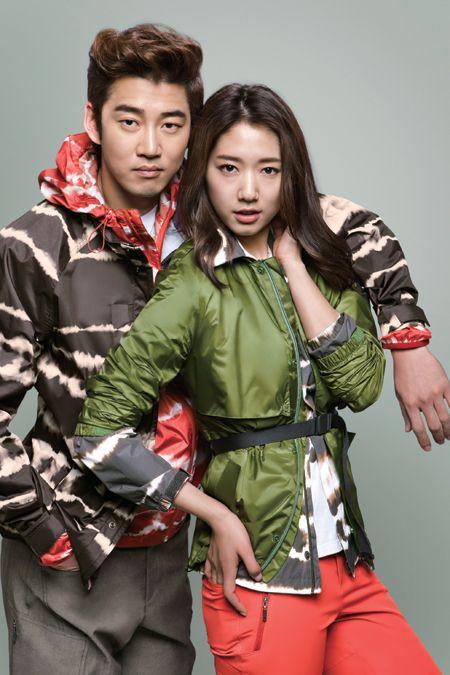 Park Shin Hye and Yoon Kye Sang Make Mini-movie One Perfect Day for Kolon Sport   A Koala's Playground