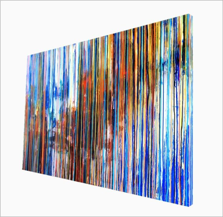 """""""The Emotional Creation #112, SPECIAL DEAL, valid to November 27, Large Abstract Painting"""" by Carla Sá Fernandes. Acrylic painting on Canvas, Subject: Landscapes, sea and sky, Abstract style, One of a kind artwork, Signed on the back, Size: 140 x 90 x 4 cm (unframed), 55.12 x 35.43 x 1.57 in (unframed), Materials: Acrylic"""