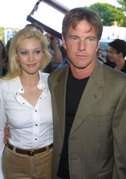Shanna Moakler & Dennis Quaid, 2001