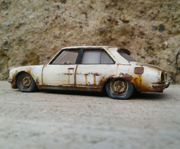 Peugeot abandoned