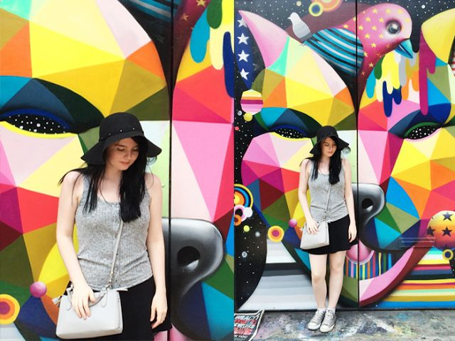 WHAT I WORE: STROLLING & BRUNCH IN SOHO // the girl in polka dots
