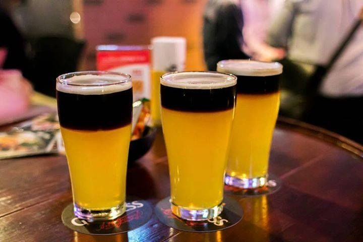 Can't decide which brew to order? Go half and half and get the best of both worlds. #BestBrews