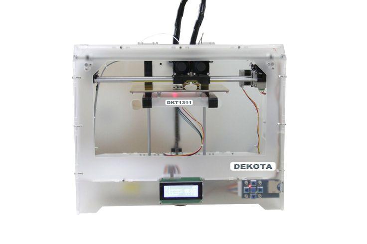Der DEKOTA 3d Drucker! http://shopit3d.com/dekota-3d-drucker-preis-99900e/ #3d #3ddruck #3ddrucker #3dprint #3dprinter #3dprinting