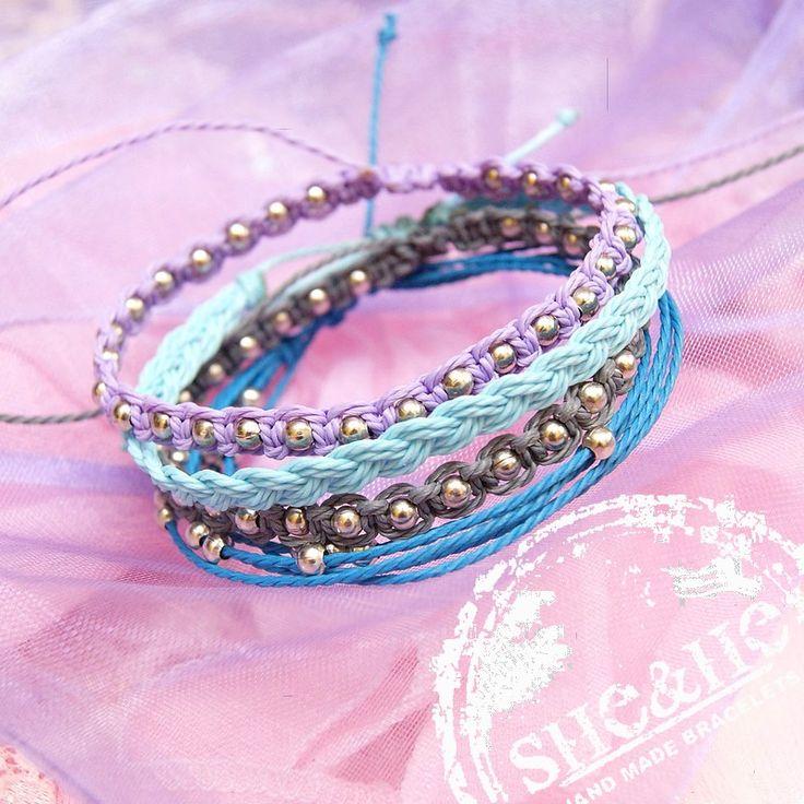 friendship strings bracelets, macrame, bransoletki makrama
