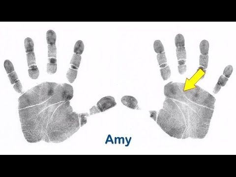 Should you look at your right hand, or your left hand? - by palm-reading...