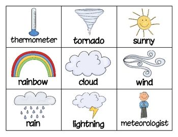 A great way to practice weather vocabulary. This game comes with game cards and recording sheet. This game can be used for small groups, partner ga...