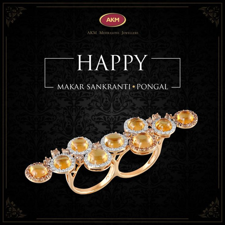Double your promise this season with an enthralling diamond ring.  AKM Mehrasons Jewellers wishes everyone a Very Happy Pongal and Makar Sankranti. . . . #jewellery #jewellerymaking #bridaljewellery #bridaljewelleryindian #bridaljewelleryindianroyals   #diamondjewellery #diamondjewellerydesign #diamondjewelleryindian #diamondrings #diamondringsengagement #diamondringsvintage #diamondringsprincesscut #diamondringsjewellery
