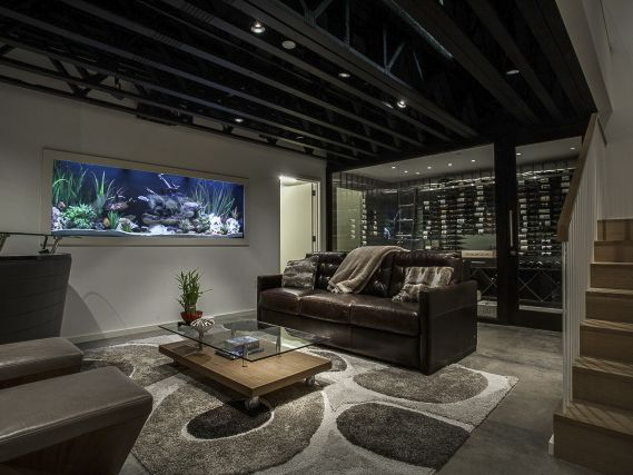 33 best basements images on pinterest basement ideas Homes with finished basements for sale