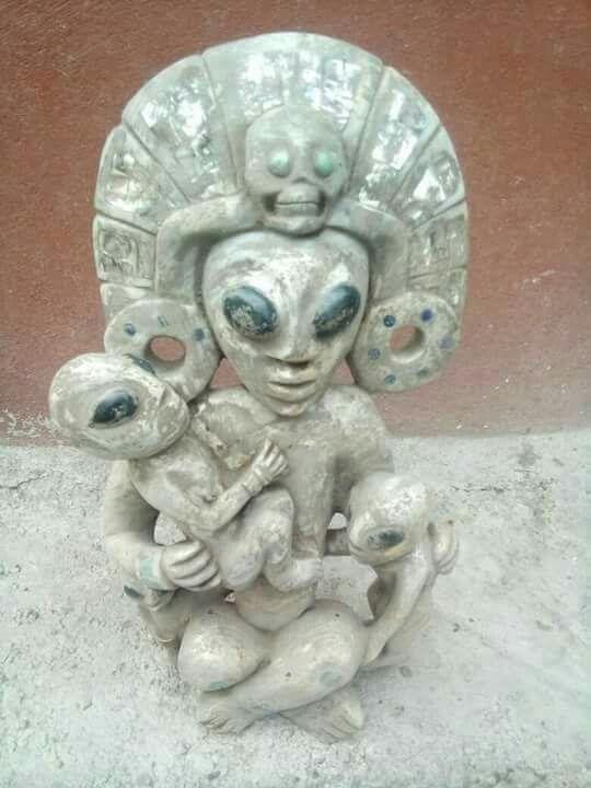 Photo by Arqueologia Extraterrestrial Mexico