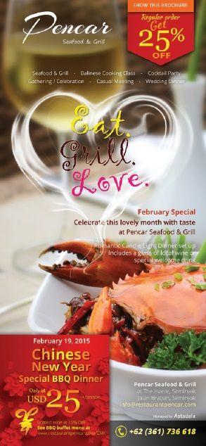 Celebrate valentine & Chinese New Year in Style at @pencarrestauran @TheHaereBali