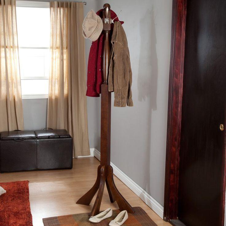 Winsome Classic Wooden Standing Coat Rack - 94474