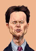 Nick Clegg when sorry just doesnt cut it  #uk #exleader #caricature #digitalart #digitalpainting #fired #liberaldemocrat #politics #nickclegg