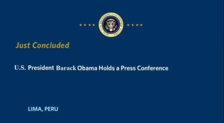 Today POTUS Barack Obama concluded his final meetings at APEC 2016 during his final foreign trip. Here's what he said: https://www.whitehouse.gov/live/president-obama-holds-press-conference-17 11/20/16