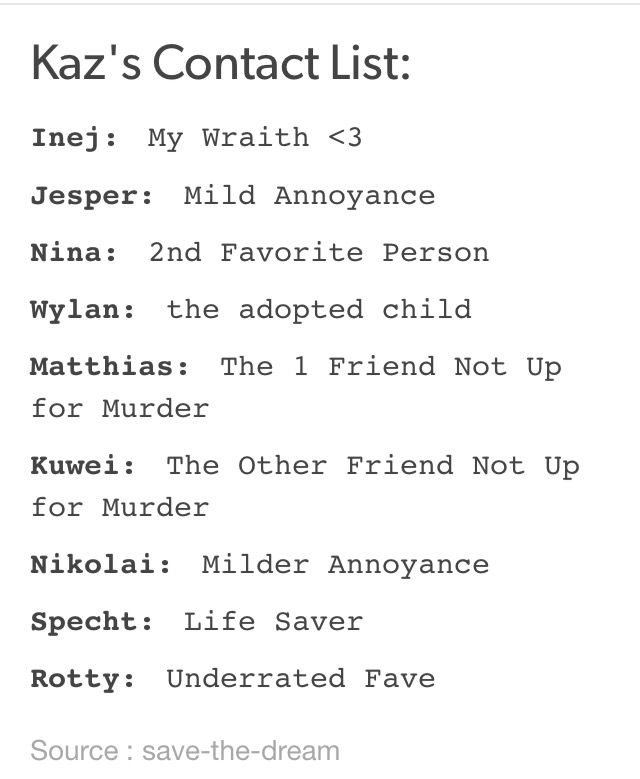 Pin By Znajda On No Mourners No Funerals Six Of Crows Crow Book Memes