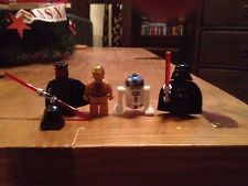 Lego Star Wars Figuren Darth Maul , R2-D2, C3-PO, Darth Vader Neu!