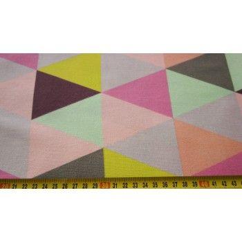 č.3063 Trojúhelníky barevné
