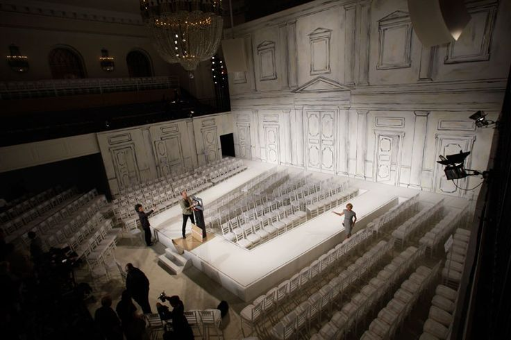 The best-dressed fashion show sets from Chanel, Louis Vuitton and more