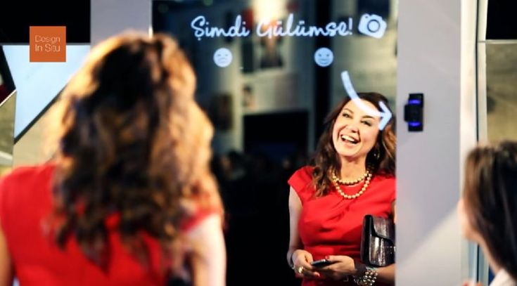 Smile-Activated Cameras - This Interactive Dove Ad Reinforces That Beauty is Amplified with a Smile (VIDEO)