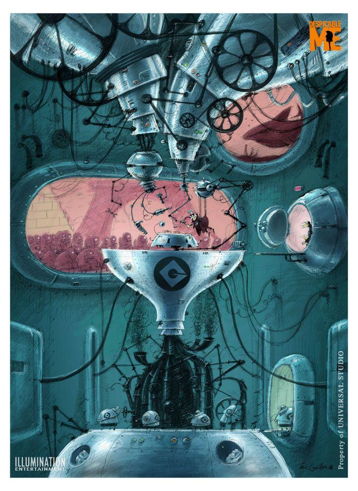 eric guillon: Gru's lab