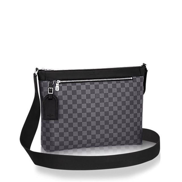 8bc8532edaf Louis Vuitton Men's Cross Body Bag in Damier Canvas Mick MM | Need ...