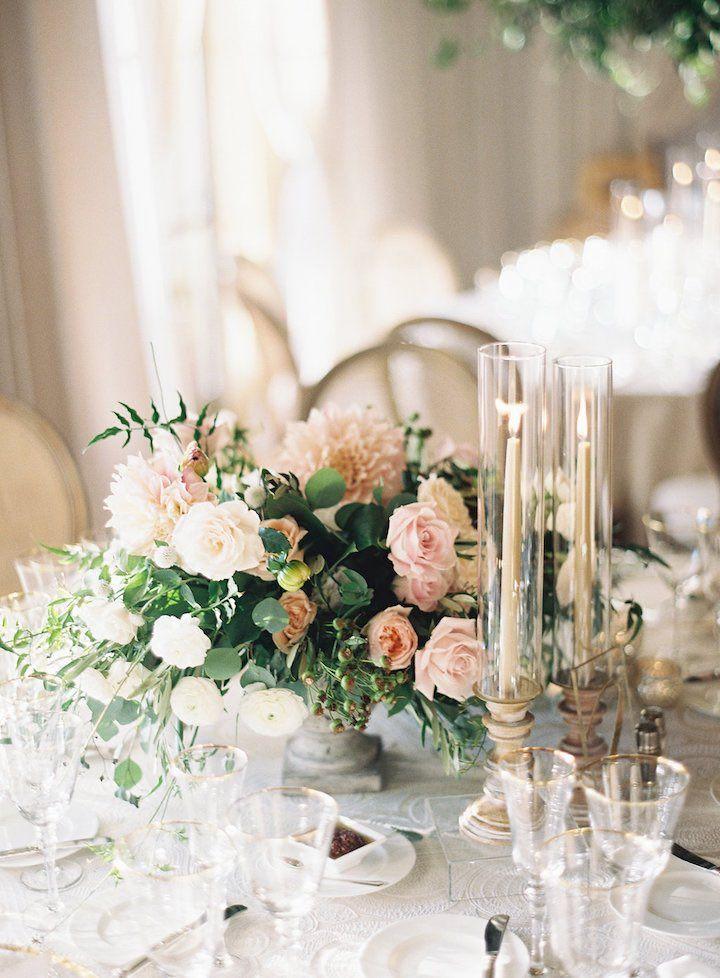 Featured Photographer: Ashley Kelemen; wedding reception centerpiece