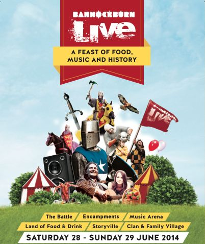 #Homecoming celebrations 700 year anniversary of the Battle of Bannockburn #Giveaway: 2 tickets to Bannockburn Live - Book your itinerary now!