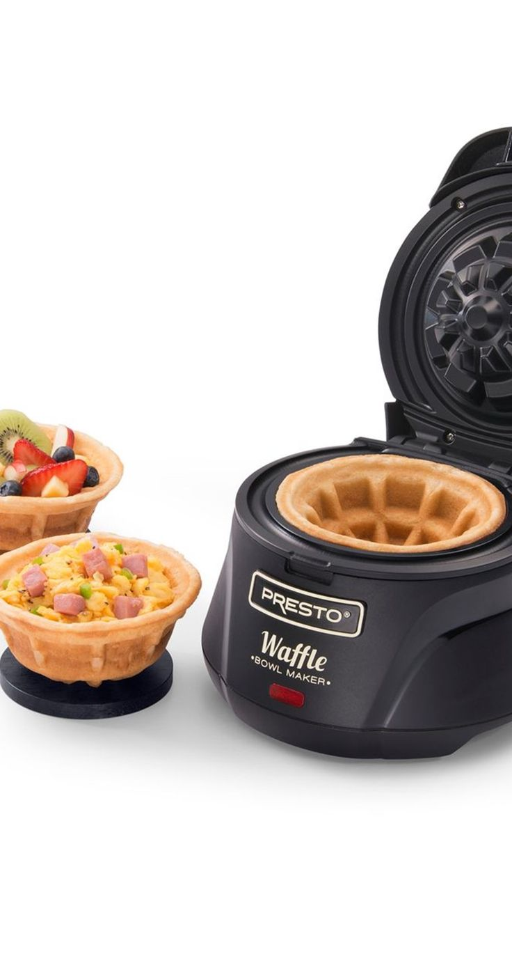 Wow your guests with a waffle bowl!